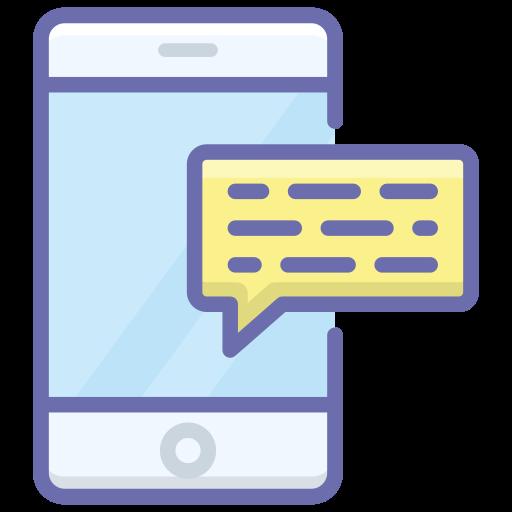 bild på en mobiltelefon